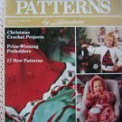 1980s Vintage Herrschners Crochet Patterns Magazine Christmas Pattern Boys Girls Baby Ornaments