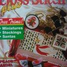 Cross Stitch Plus Pattern Back Issue Magazine Christmas Holiday 20 + Patterns Needlepoint Holiday