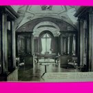 Vintage Postcard French Library Bibliotheque Fontaine l'Emprereur