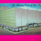 Vintage Postcard Hemphill Wells Co Department Store Lubbock Texas USA Color