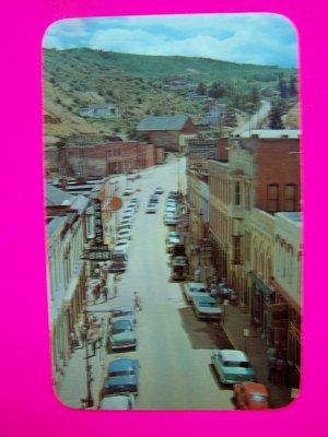 Vintage Postcard Main Street Central City Colorado CO 3079