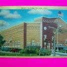 40s Vintage Linen Postcard I M A Building FLint Michigan 1947 Colorcraft