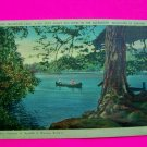 Vintage Post Card Mountain Lake Alleghany Mountains of Virginia Postcard Unused