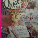 1990s Cross Stitch QUick & Easy Pattern Magazine 22 Patterns April May 1991