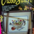 1990s For The Love Of Cross Stitch 22 Patterns Magazine Leisure Arts Pattern Book