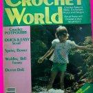 Vintage Crochet World Pattern Magazine June 1982