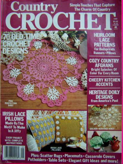 70 Patterns Country Crochet Back Issue Pattern Magazine 1990
