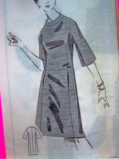 1960s Vintage Dress Mail Order Sewing Pattern 1 - 477