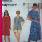 Plus Size Womens Top Dress Shorts 26 28 30 32 W Simplicity Sewing Pattern 7220