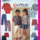 Toddler Boys Girls 5 6 6X Jacket Vest Top Skirt Pants Sewing Pattern 7229