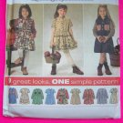 New Design Your Own Holiday Dress 9 Great Looks Girls 5 6 7 8 Sewing Pattern 7746