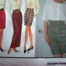 Misses 2 Hour Slim Skirt Mini Ankle Knee Back Vent 10 12 14 16 Sewing Pattern 8141