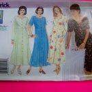 Plus Size Flared Dress Princess Seams 14W 16W 18W Delta Burke Sewing Pattern 4876