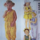 Toddler Girls 1 2 3 Summer Sun Top Pants Shorts Bloomer Panties Sewing Pattern 6968