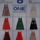 Girls 8 Great Jumper Dress Sewing Patterns 7 8 10 McCalls 7788