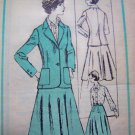 70s Vintage Blouse Skirt Jacket Prominent Designer McMullen Mail Order Sewing Pattern M 321