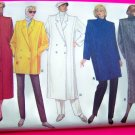 1980s Vintage Coat Straight Lined Flange Jacket 8 10 12 Sewing Pattern Butterick 4044