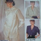 Free USA S&H 80s Woman's Day Collection Blouse Set Shirts Misses 8 10 12 Sewing Pattern 2721