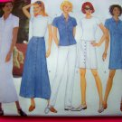 Butterick Classics 14 16 18 A Line Dress Skirt Slim Pants Top Sewing Pattern 4892