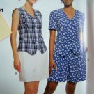 Easy Fitted Shirts Pull On Shorts 12 14 16 18 McCalls Sewing Pattern 8768