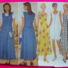 Misses 6 8 10 Fitted A Line or Flared Princess Seams Sewing Pattern 4932