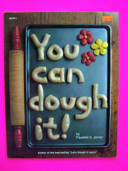 1980s Vintage You Can Dough IT Craft Ideas Ornaments