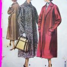 1950s Vintage Clutch Coat Jacket Easy Sewing Pattern 4262