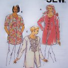 New Misses Tunic Top Shirt Sizes XS S M L XL Kwik Sew Sewing Pattern 2338