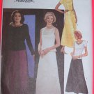 Princess Top Evening Length Skirt Sheer Overlay 14 16 18 Sewing Pattern 3670
