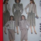 80s Vintage Jacket Blouse Skirts Scarf Sewing Pattern 9197
