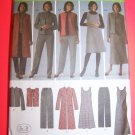 Jumper Dress Pants Vest Jacket 10 12 14 16 18 Sewing Pattern 4789
