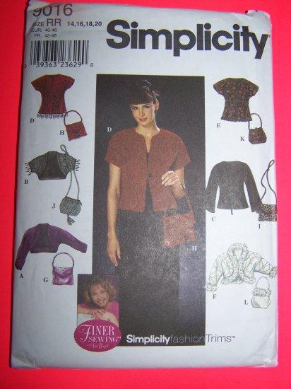 Jackets Shrug Purse Bag Knit Jacket Plus Size 14 16 18 20 USA Shipping 1 cent