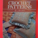 Herrschners Crochet Patterns 1991 Easter Basket Dress Bunny Pineapple Valance