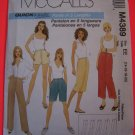 McCall's 4389 Pants in 5 Lengths Sewing Pattern 14 16 28 20 USA 1 Dollar Shipping