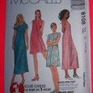 McCalls 8108 Sewing Pattern Sundress 1 Hour Dress 12 14 16 USA $1 Shipping