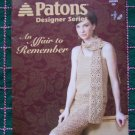 Patons Crochet Patterns Book Designer Series An Affair to Remember Sizes Xs - 3XL