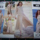 Uncut Adri Vogue Sewing Pattern 2545 Jacket Top Skirt Culottes Gauchos 18 20 22