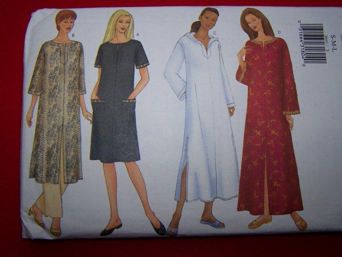 Caftan Sewing Pattern S M L 8 10 12 14 16 18 Butterick 6641