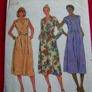 Vintage 70s Sewing Pattern Dress Vest  V Neck Butterick 6376 USA 1 Dollar Shipping