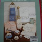 Vintage Cross Stitch Patterns Simply Elegant French Towels Country Crafts USA Penny Ship