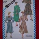 Vintage Sewing Pattern Simplicity 6170 Dress SHoulder Flanges 6170 $5 Patterns Sale