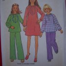 Uncut Vintage Girls Dress 12 14 Sewing Pattern 7317