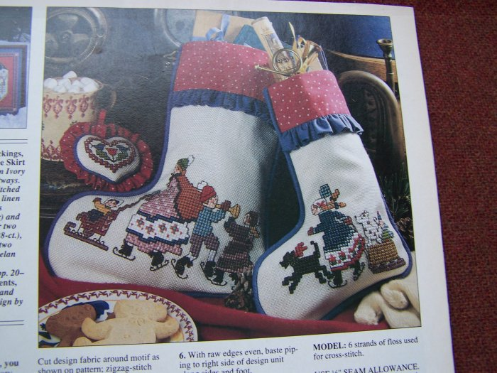 Cross Stitch & Country Crafts Pattern Magazine Sept Oct 1992 BH&G 32 Patterns