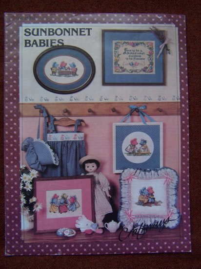 Vintage Sunbonnet Babies Graph Patterns Ring Around Rosie Tea Party