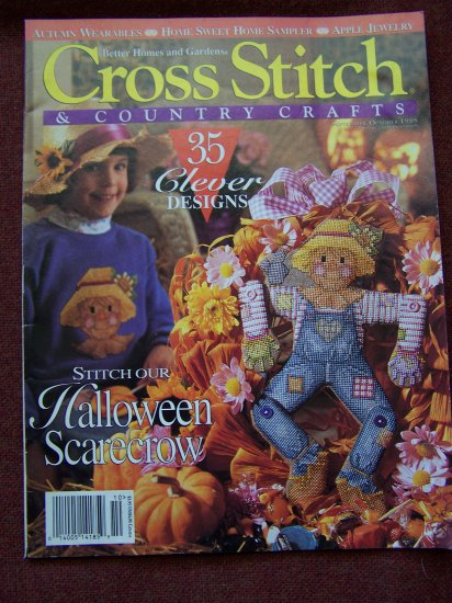 Cross Stitch Pattern Magazine September October 95 Country Crafts 35 Patterns
