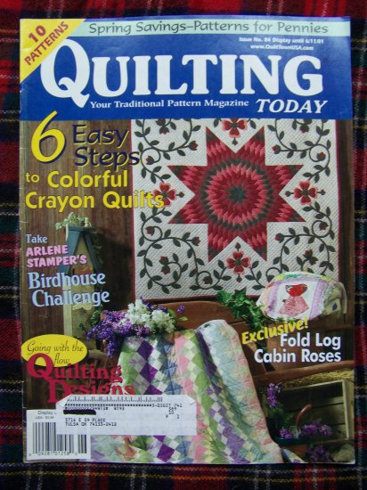 10 Quilt Patterns Quilting Today Magazine 2001 Sunbonnet Sue Double Pinwheel