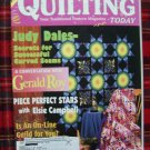 Quilting Today Pattern Magazine 76 Feb 2000 Quilts Rose Stars Basket Log Cabin Sad Iron