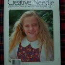 Creative Needle Back Issue Magazine July August 1989 Smocking Patterns Graphs Roses