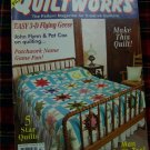 16 Quilting Patterns Traditional Quiltworks Pattern Magazine 38 July 1995 Star Quilts