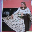 Knitting Pattern Dreamy Ripple KNit Afghan Blanket 1 Cent USA SHipping